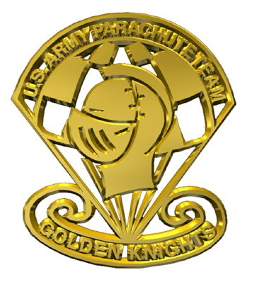 United States Army Parachute Team - Golden Knights Logo