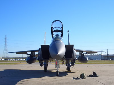F-15E Strike Eagle - Tail Number 1668 - Front