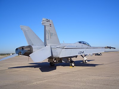 F-18 Hornet - Tail Number 134