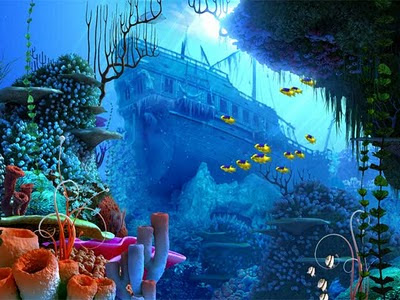 Coral Reef 3D Screensaver