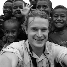 Self portrait with some awesome kids in a village