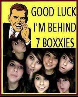 Behind Seven Boxxies