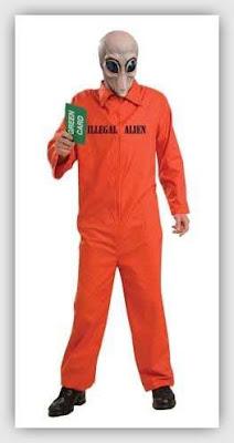 El disfraz del Illegal Alien para este Halloween CGnauta blog