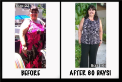 She Went from a Size 22 to a Size 16 in just 60 days