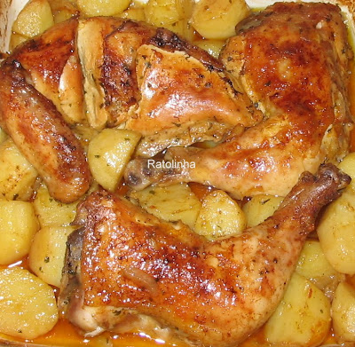 Assar batatas no forno tempo
