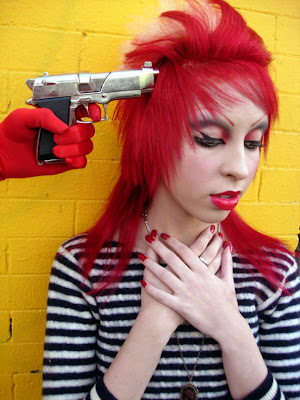 Emo Hairstyle With Emo Red Hair Style Picture 9