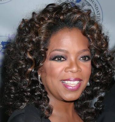 african american short curly hairstyles. Oprah Curly afro Hairstyle