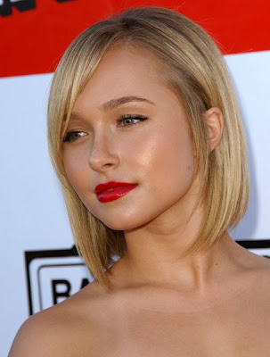 Trendy Short Bob Hairstyles of Hayden Panettiere