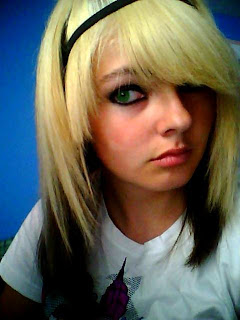 Blonde Emo Girl