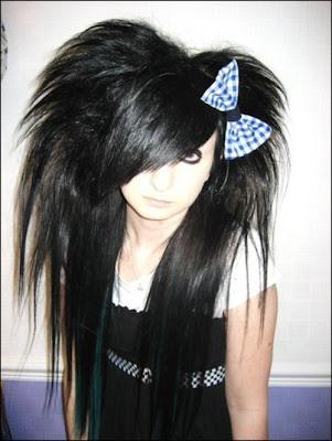 scene kids hairstyles
