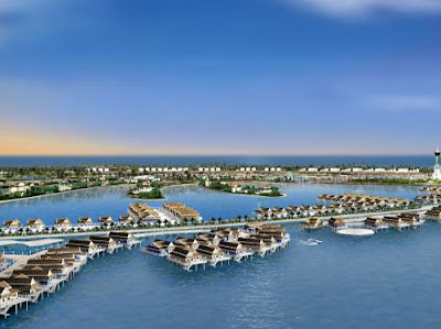 Palm Jebel Ali - breakwater, offers 32 luxury hotels
