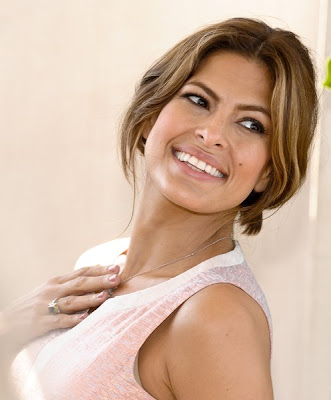 Eva Mendes Latest Half-Updo Hairstyle Mendes also had to make some