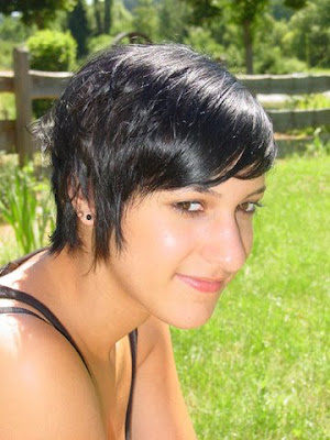 black short hairstyles for women 2009-2010