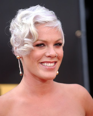 Popstars Hairstyle: Pink - Pin Curl Perfection