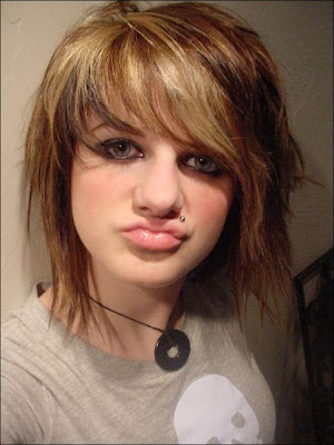 emo hair color pictures. Hair Color Ideas For Short