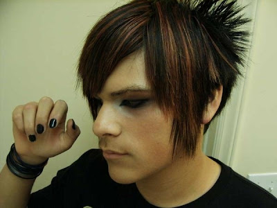 emo girl short hairstyles. haircuts for guys with awesome
