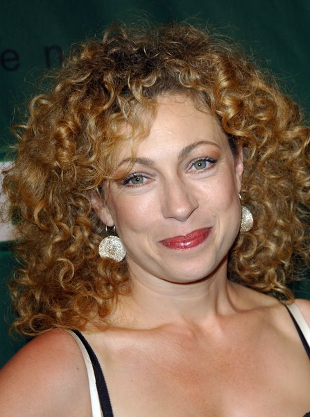 ALO 062698 Alex Kingston Natural Curly Hairstyles