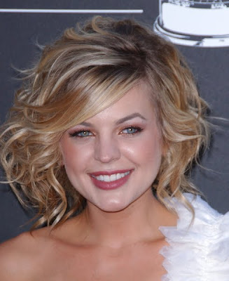 Kirsten Storms New Haircut 2013