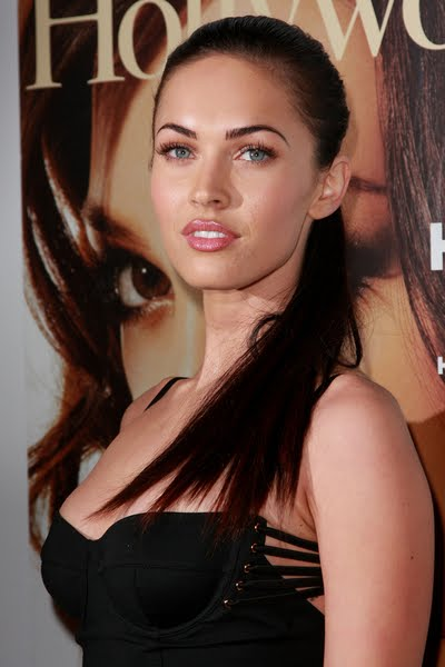 megan fox hairstyles 2011. Megan Fox pony tail haircut