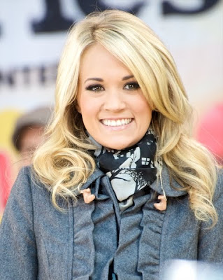 Carrie Underwood#39;s long wavy