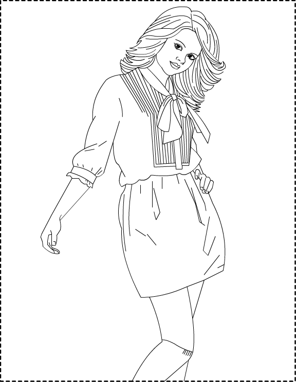 Image Result For Coloring Pages Barbie
