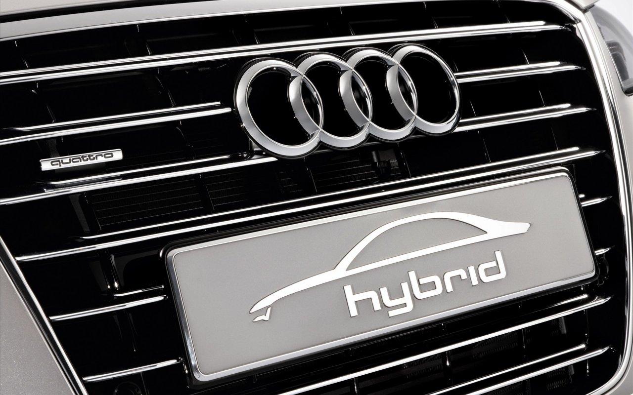 I Car Logos Audi A8 Hybrid