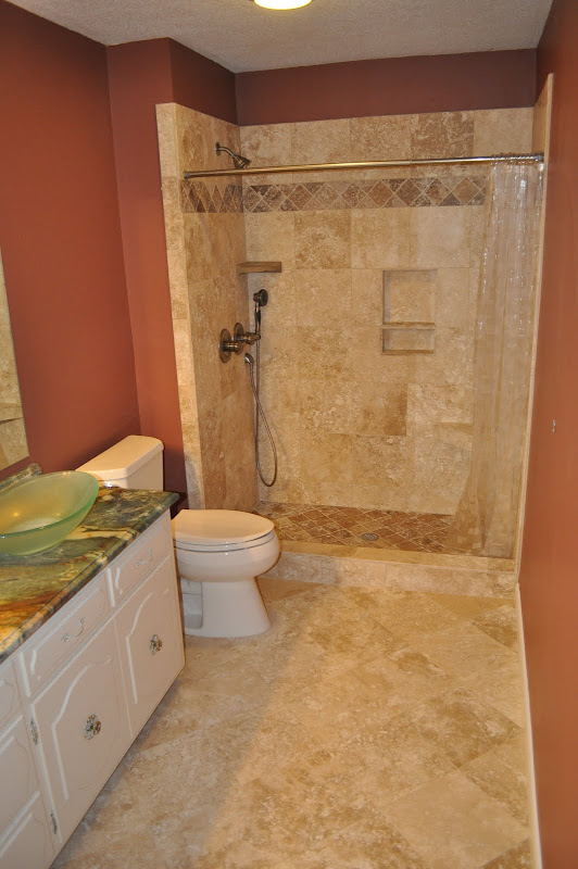 The process involved in a bathroom remodel and rebath is not as  title=
