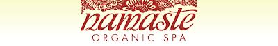 logo header Namaste Organic Spa Giveaway
