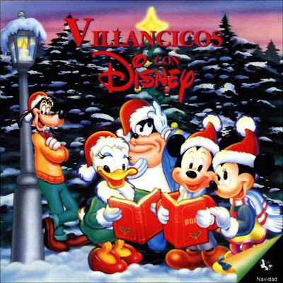 CD Villancicos con Disney Villancicos+Con+Disney+1994+-+Frontal