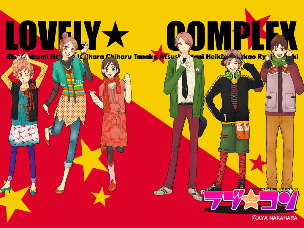Lovely Complex [24/24] [Mp4] [Sub Espaol] [56 Mb] [DF]