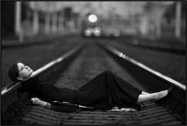 foto korban kecelakaan kereta api