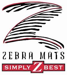 Zebra Mats