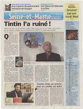 """Le Parisien """"Seine-et-Marne"""" de ce jour"""