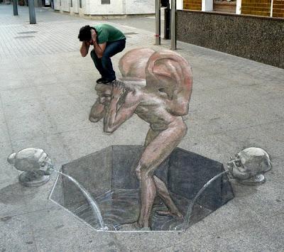 Artistas callejeros.....genios