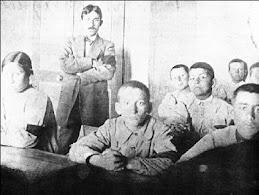 1911. Δάσκαλος της Γ' Τάξης Ελληνικών στα Μέγαρα.