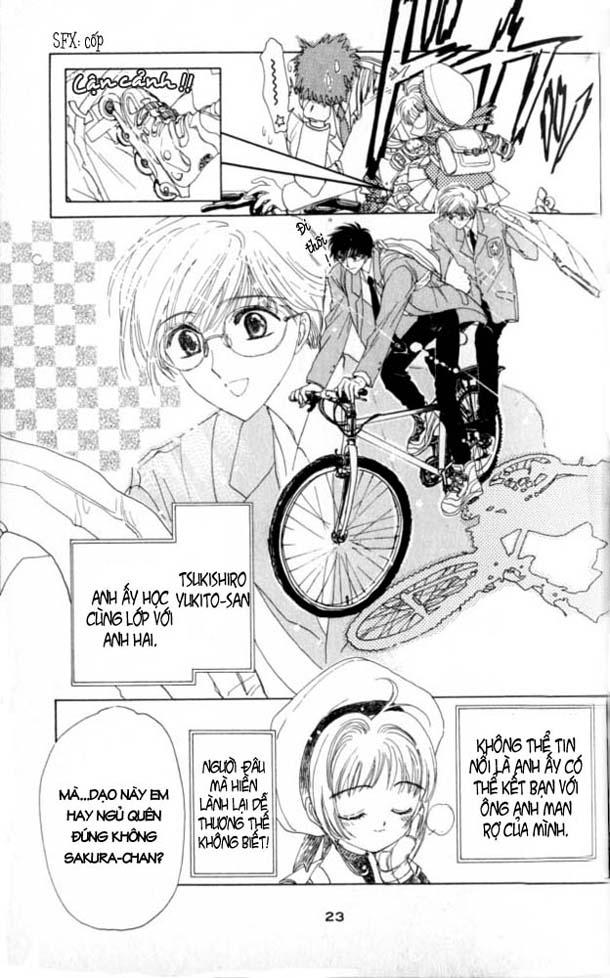 Card Captor Sakura – Thủ Lĩnh Thẻ Bài chap 1 Trang 21