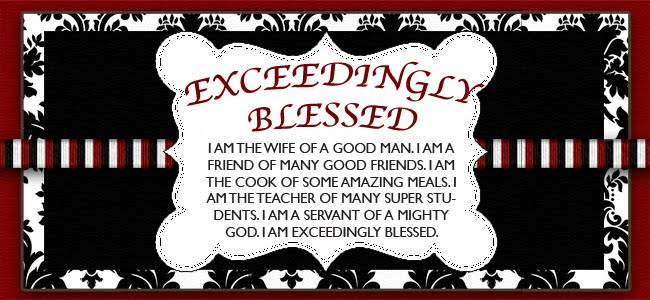 Exceedingly Blessed
