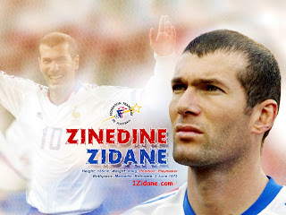 biography zidane zinedine