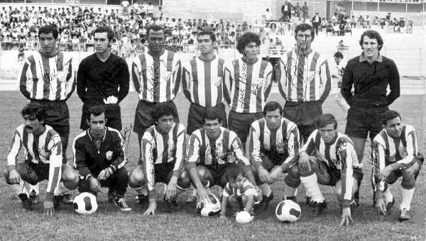 Primer Equipo Oficial presentado por Estudiantes de Mérida