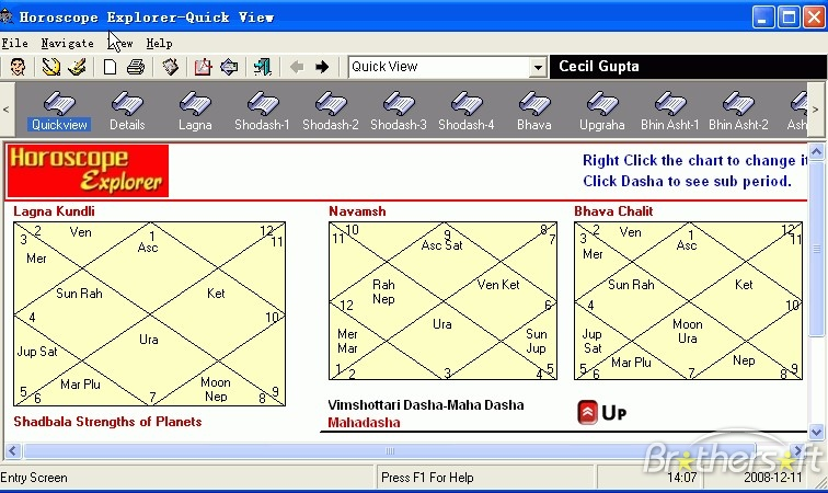 Kala Vedic Astrology Software Free Download