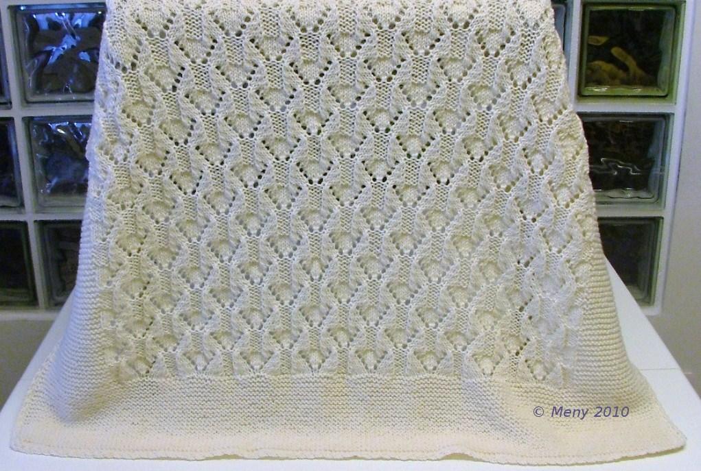 Вязания спицами для пледа 550