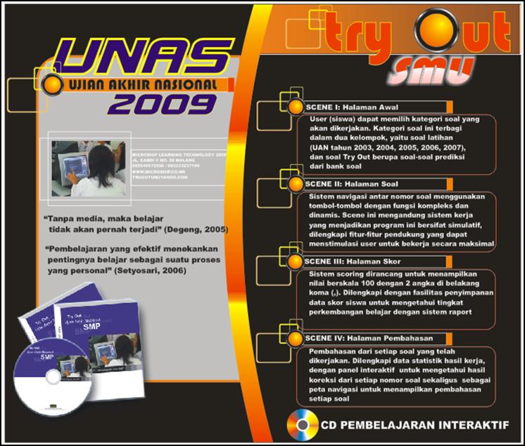 brosur adalah salah satu iklan media cetak yang terdiri dari 1 halaman