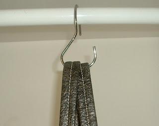 Steps to organization the closet purse hanger a winning - Handbag hanger for closet ...