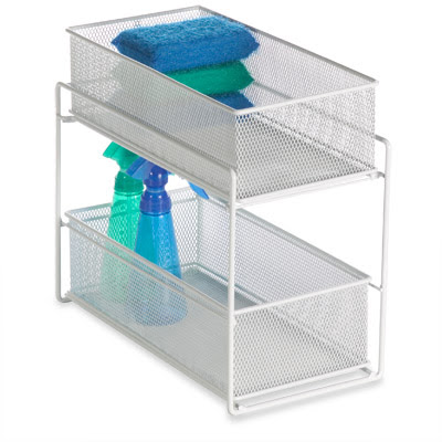 Steps to organization college bound some space saving for Bathroom under sink organizer