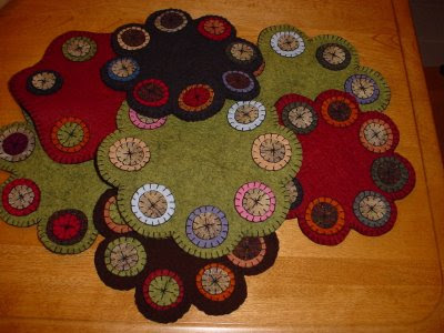 Annelle's Originals - Contemporary Penny Rugs, Wool and Wool Felt
