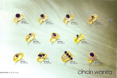 Zhulian Perhiasan Berlapis Emas Koleksi Perhiasan