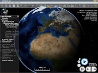 NASA World Wind 1.4.0 - główne okno