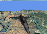 World Wind Java F-16 symulator