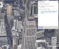 Virtual earth, Nowy Jork, Empire State Building