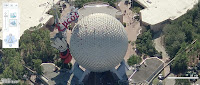 Virtual Earth, Disney World Floryda, EPCOT Center